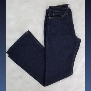 Gap Low Rise Stretch Flare Ankle Jeans Size 4